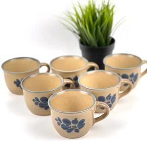 PFALTZGRAFF Vintage Folk Art Stoneware Mug Cup 001